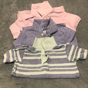 3 boy's polo t shirts. size 5T
